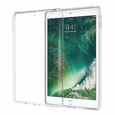 """New Shell iPad 9.7"""" 2017 TPU gel flexible and unbreakable compatible smart cover"""