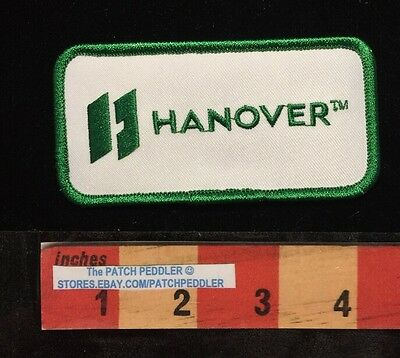 Hanover Company Patch Green/white Houston Tx. Oil/gas Industry Advertising 58Oo