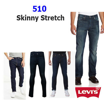 New Levi's 510 Skinny Fit Men's Jeans