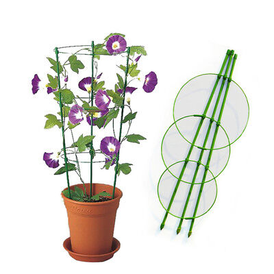 Metal Flower Plants Climbing Rack Home Garden Yard Vegetable Trees Wall