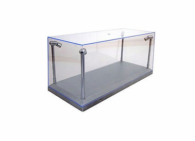 1/18 Acrylic Case With Led Lights Display Case T9/189922