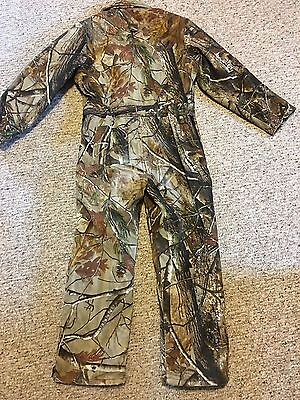 Realtree  Youths Camo Hunting Jumpsuit Size 12  EUC