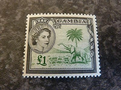 Gambia Postage Stamp Sg185 £1 Lmm