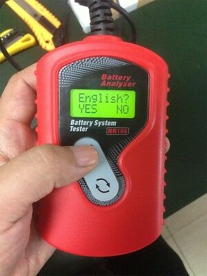 12V Auto motive Battery Analyzer Battery Tester BA100 Battery Checker, Easy test