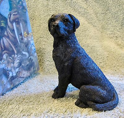 Black Labrador Retriever Dog - Stone Critters - Brand New In Box