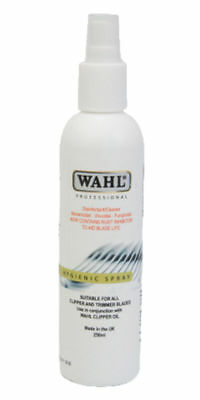 Wahl Hygienic Clipper Trimmer Disinfectant Cleaner Sanitiser Spray 250ml
