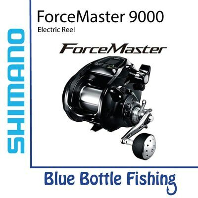 NEW Shimano Electric Reel ForceMaster 9000 from Blue Bottle Marine