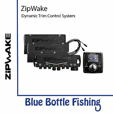 NEW ZipWake Dynamic Trim Control System  KB450-S from Blue Bottle Fishing