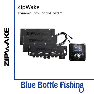 NEW ZipWake Dynamic Trim Control System  KB600-S from Blue Bottle Fishing