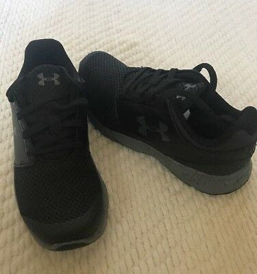 Boy's Under Armour Shoes UA BPS DRIFT RN 1288363-002 Athletic Black 2.5 youth