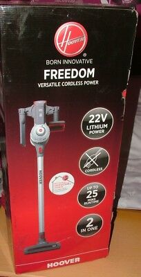 Hoover Freedom FD22G 22v Cordless  2in1 Upright Stick Vacuum Customer return