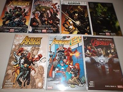 Avengers  TPB  (Lot of 7)   NEW Avengers Softcover GN Books ~Crazy Deal~ (2)