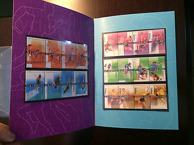 Hong Kong Stamps 2004 Sports Thematic Booklet set