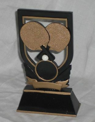 14.5 Cm Table Tennis Plaque, Engraved Free