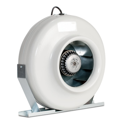 CF Group Can RS8HO High Output Centrifugal Inline Fan, 737 Cubic Feet Per Minute