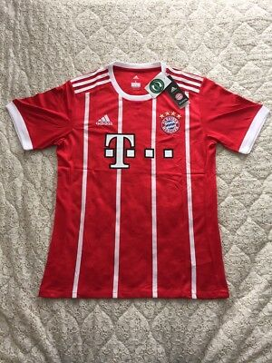 Bayern Munich Home Football Shirt-Large-2017/2018 Season