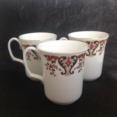 Colclough Royale mugs X 3 Bone China