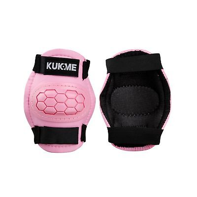 KUKOME Kids' Protective Gear Elbow and Knee Pads Wrist Guard for Children... New