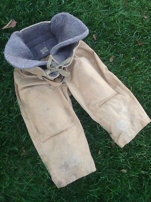 Awesome Old Antique Late 1920s AG SPALDING & Bros. Canvas Football Pants Vintage