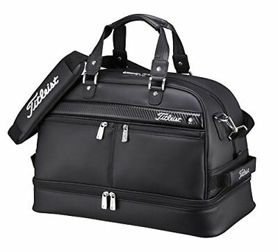 TITLEIST Boston Bag Sports Gym Travel AJBB67-BK Black W / Shoes Pocket From ...