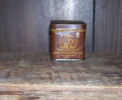 Vintage John Middleton's Club Mixture Tobacco Tin