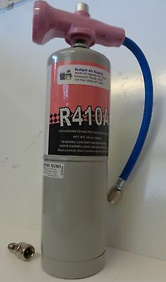 410a refrigerant Easy Top off Can 1.8Lb Can w EZ read 410A gauge Hose & adapter