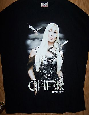 CHER - Living Proof 2002 Farewell Concert T-Shirt (XL)
