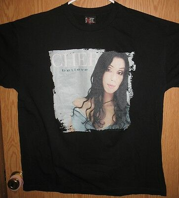 Cher - Believe 1999 Tour Concert T Shirt (XL)