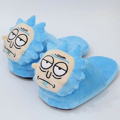 Rick And Morty TV Series Plush Unisex Slippers OSFM (RICK)