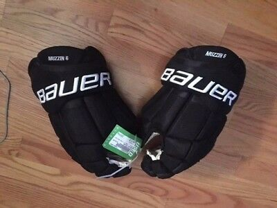 Pro Stock Gloves LA Kings Game Used Easton Stealth Bauer Rebrand Jake Muzzin 14""