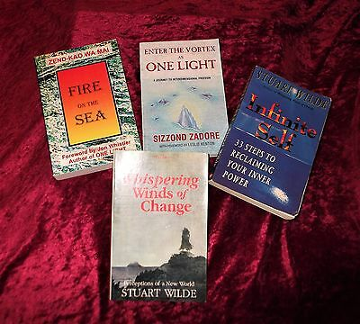 "L@@k!""new Age"" "" Metaphysical Healing -Energy Light Workers""  Book Lot- Bj25"