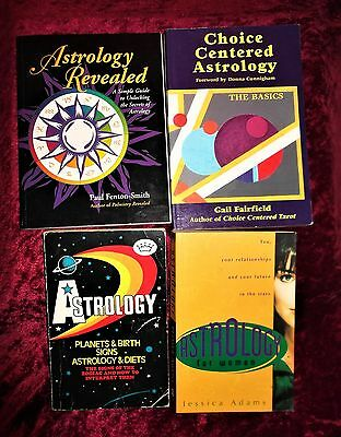 "L@@k!""new Age"" ""astrology"" Book Lot- Bj44"