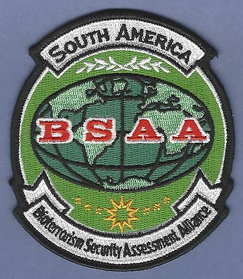 Bsaa Resident Evil South America Bioterrorism Security Assessment Alliance Patch