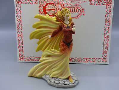Enchantica Bruntian- Spring Witch Fantasy Limited Edition Figurine  Mint Box