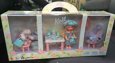 Kelly Doll, Piggie, and Bear Tea for Three TRU Exclusive 2002