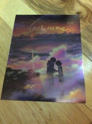 Your Name Large Promo Card NYCC 2017