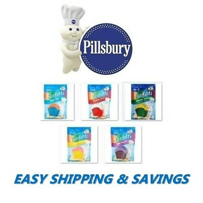 Pillsbury Funfetti Cake Mix : Many Colors To Choose From! Free World Shipping!!