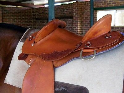 Competitor Drafter fender stock saddle face leather