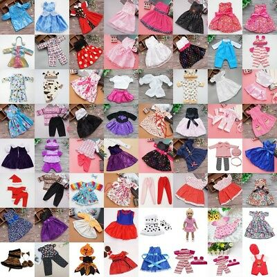 Doll Clothes Underwear Pants Shoes Dress Accessories for 18inch Doll Girls New.
