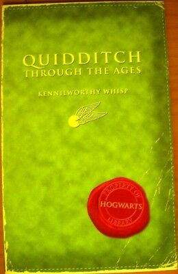 Quidditch Through The Ages, Kennilworthy Whips - Harry Potter
