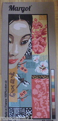 ORIENTAL BEAUTY ~ TAPESTRY CANVAS from MARGOT, FRANCE