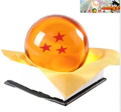 7.5cm Acrylic Dragonball Replica Ball (Large/3 Star) with Gift Box