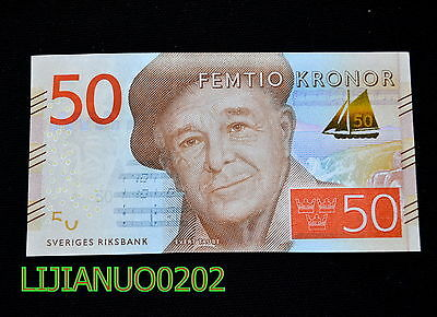 Sweden Schweden 50 Kronor 2015 P-70 UNC BANKNOTE CURRENCY EUROPEAN