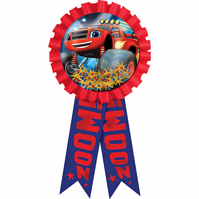 Blaze and the Monster Machines Confetti Award Ribbon - Birthday Party Supplies