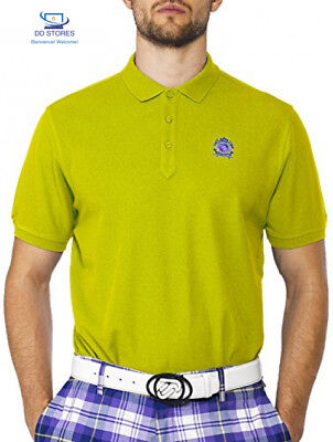 IJP Design Men's Polo de Golf en coton