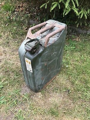 Jerry can for fuel such as diesel, petrol or similar fuel- 20 litre