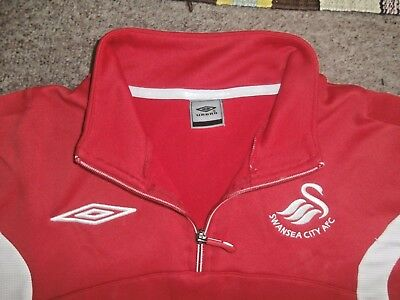 Genuine UMBRO Official SWANSEA CITY FC FOOTBALL Training TOP~Large