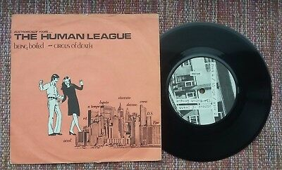 """The Human League Being Boiled 7"""" Mono 1st press rare"""