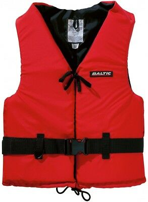 Baltic Aqua Red (5319) 50N Lifejacket for Kids & Youth 30-50kg - NEW
