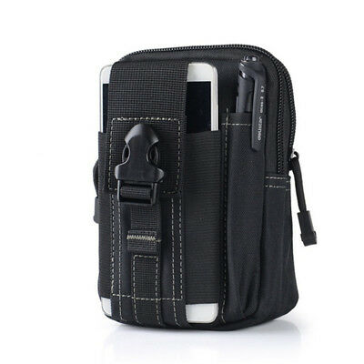 Men's Military Tactical Waterproof Waist Pack Purse Mini Outdoor Sport Small Bag